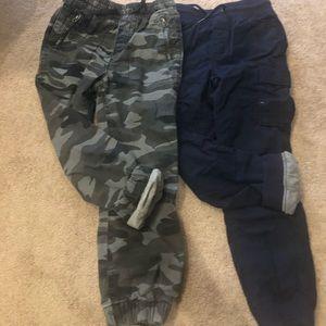 2 gap boys lined pants